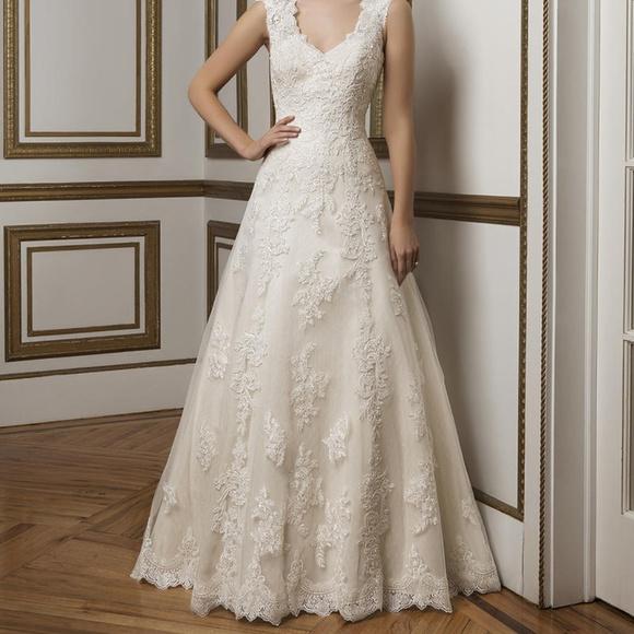 Justin Alexander Dresses Aline Lace Wedding Dress 8822 Poshmark
